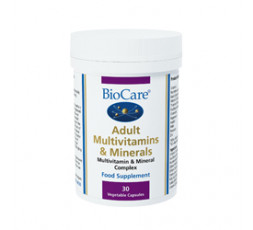 BioCare Adult Multivitamins and Minerals 60 Vcaps