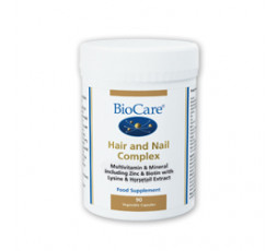 BioCare Hair and Nail Complex 90 Vcaps