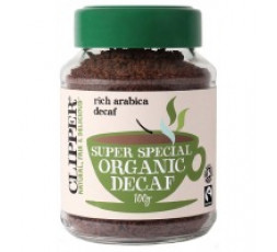 Clipper Organic Instant Freeze Dried Decaf Coffee 100g