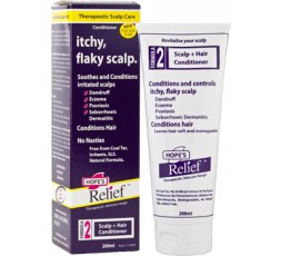 Hopes Relief Herbal Conditioner 200ml Itchy, Flaky Scalp