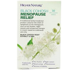 Higher Nature Black Cohosh Menopause Relief 30 tabs