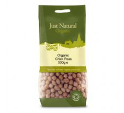 Just Natural Organic Chickpeas 500g