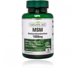 Natures Aid MSM 1000mg 90 tabs