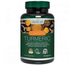 Natures Aid Turmeric Extract 60 caps