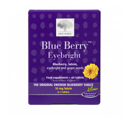 New Nordic Blue Berry Eyebright 60 tabs