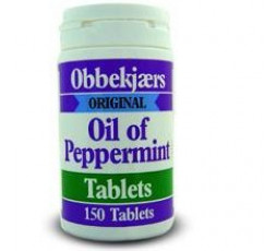 Obbekjaers Oil of Peppermint Tablets 17.2mg 150 tabs