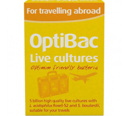 Optibac For Travelling Abroad 60 caps