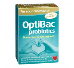 Optibac For Your Cholesterol 60 (30+30) capsules