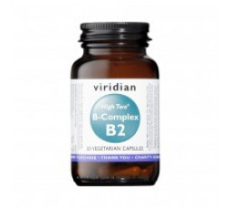 Viridian High Two Vitamin B2 with B Complex 30 caps