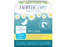 Natracare Ultra Pads Super With Wings 12