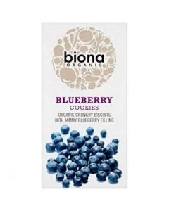 Biona Organic Blueberry Filled Cookies 175g
