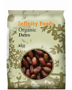 Infinity Foods Organic Pitted Dates 1KG