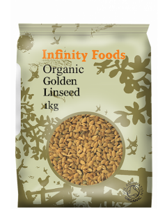 Infinity Foods Organic Linseed Gold 1KG
