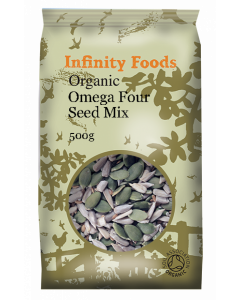 Infinity Foods Organic Omega Four Seed Mix 500g