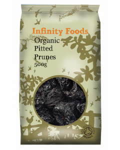 Infinity Foods Organic Pitted Prunes 500g