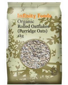 Infinity Foods Organic Rolled Oatflakes 1KG