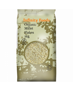 Infinity Foods Organic Millet Flakes 500g