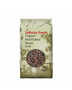 Infinity Foods Organic Red Kidney Beans 500g