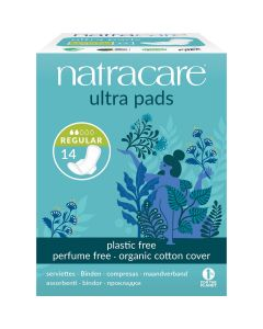 Natracare Ultra Pads Regular With Wings 14