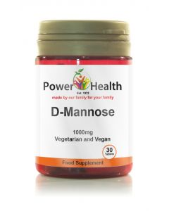 Power Health D Mannose 1000mg 30 tabs