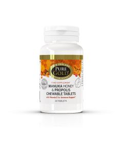 Pure Gold Manuka Chewable 60 Tablets