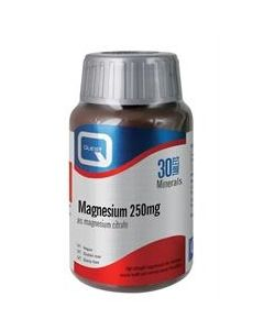 Quest Magnesium Citrate 250mg 30 Tabs