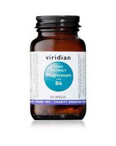 Viridian High Potency Magnesium with B6 30 Vcaps