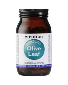 Viridian Olive Leaf Extract 90 Vcaps