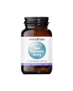 Viridian Saw Palmetto Berry Extract 30 Vcaps