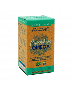Wiley's Finest Vegan CatchFree Omega-3 - 60 Softgels