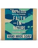 Faith in Nature Fragrance Free Soap 100g