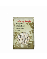 Infinity Foods Organic Blanched Almonds 250g