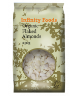 Infinity Foods Organic Flaked Almonds 250g