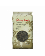 Infinity Foods Organic French Type Lentils 500g